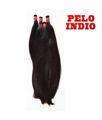 PELO NATURAL SUELTO LISO 60 CM - 24 PULG